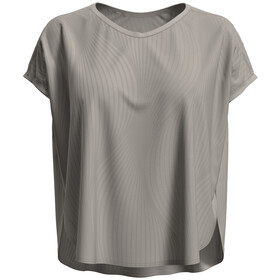 Odlo Maha Shirt S/S V-Neck Women, silver cloud